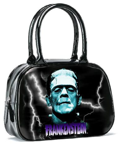 Rock Rebel Blue Frankenstein Handbag