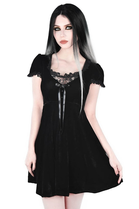 Killstar Heather Babydoll Dress - Vampirefreaks Store