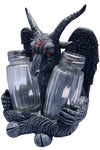 Gothic salt and pepper shakers