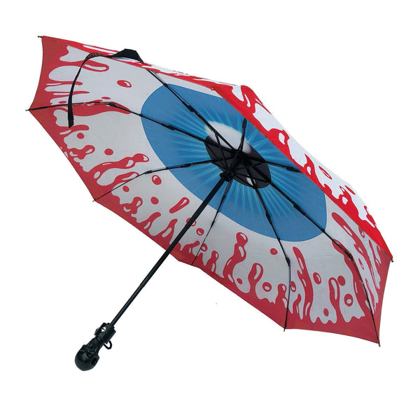Kreepsville Skull Handle Eyeball Umbrella - Vampirefreaks Store