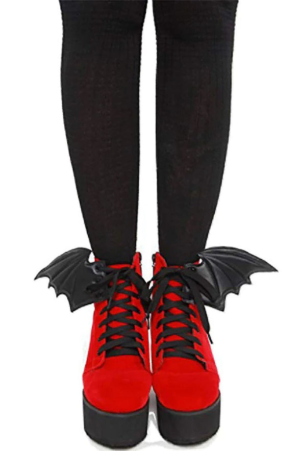shoe bat wings
