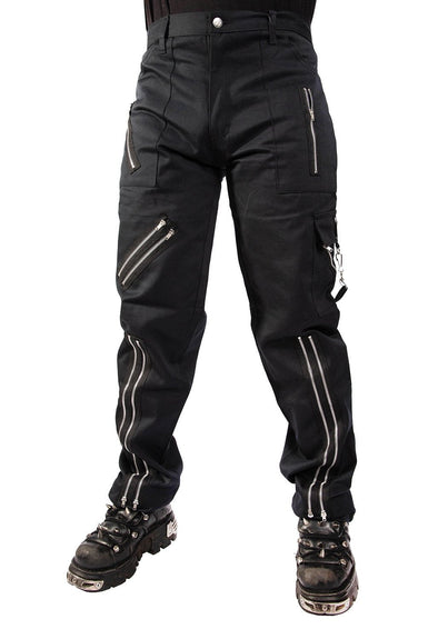 Tiger of London Zip Bondage Pants (Black)