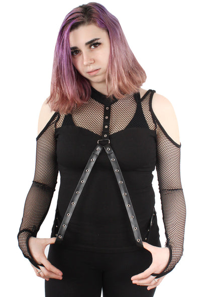 Deadly Desire Fishnet Top