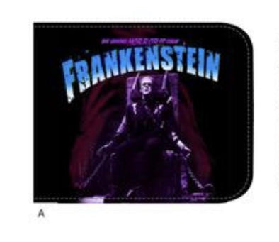 Rock Rebel Purple Frankenstein Wallet - Vampirefreaks Store
