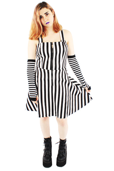 Strange & Unusual Striped Dress
