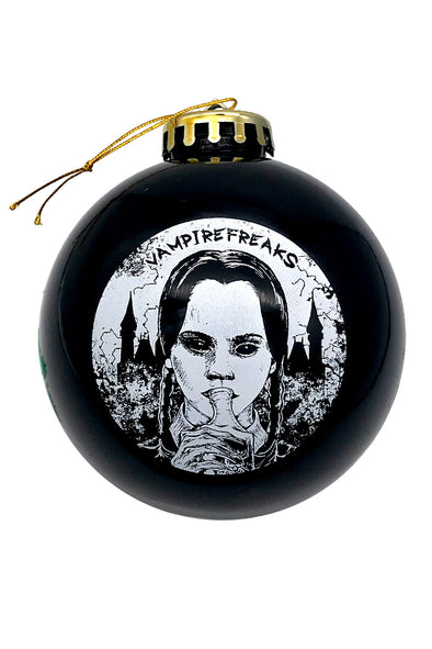 Wednesday Addams ornament