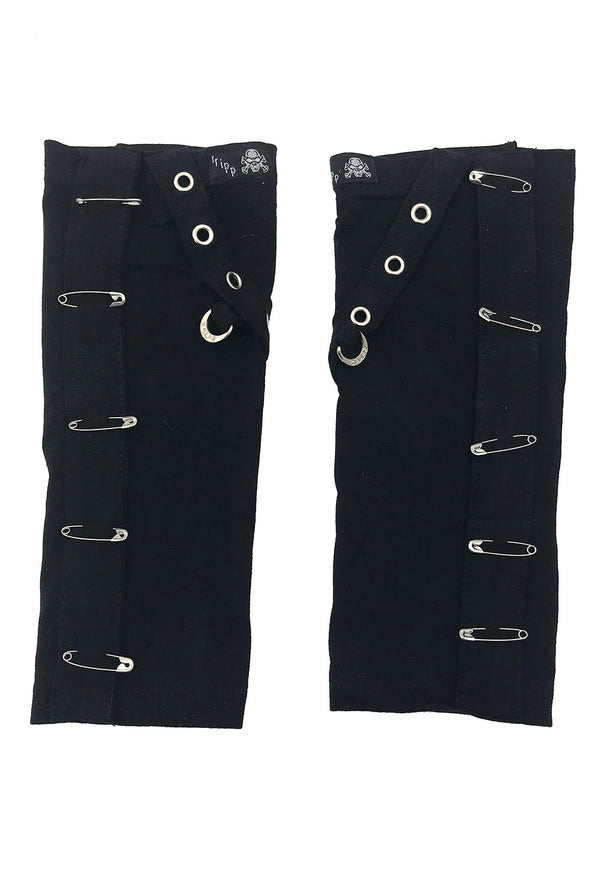 Tripp NYC Safety Pin Goth Arm Warmers