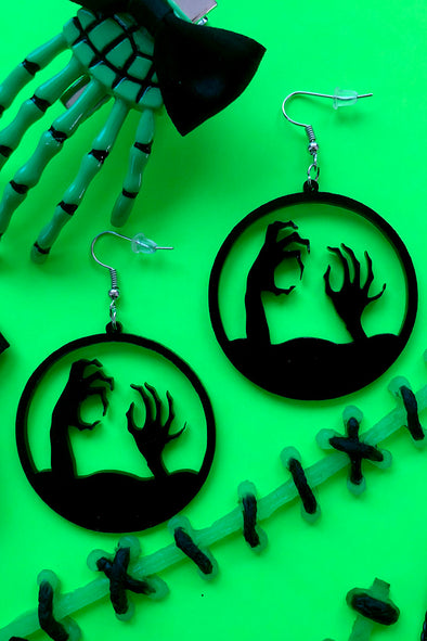 Rise from the Grave Earrings