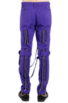 mens goth purple pants