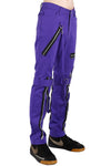 mens purple rave pants