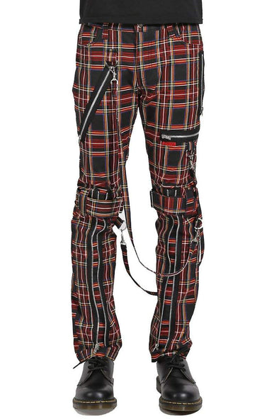 Tripp NYC  Bondage Pants [Black Plaid]