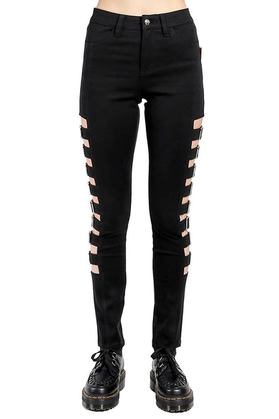 Tripp Side Buckle Pants - Vampirefreaks Store