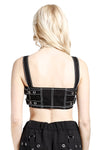 Tripp NYC Side Strap Crop Top