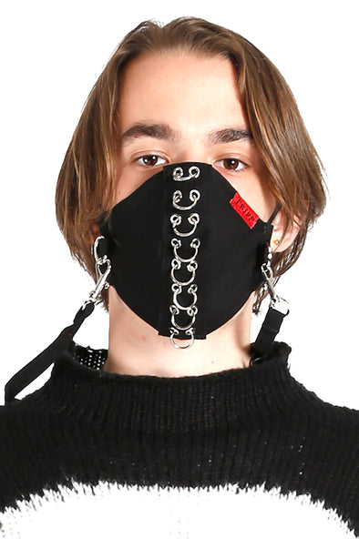 Tripp Piercing Face Mask [Black]