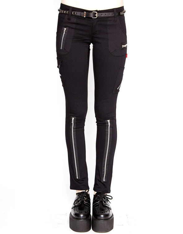 Tripp Exploited Ladies Pants - Black - Vampirefreaks Store