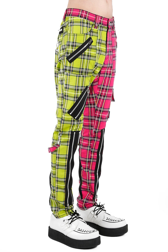 womens bright yellow rave pants