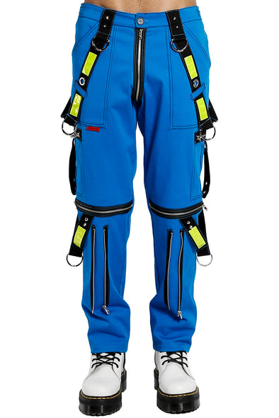Tripp Blue Electric Pants - Vampirefreaks Store
