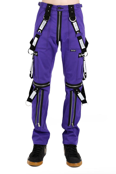 Mens purple goth pants