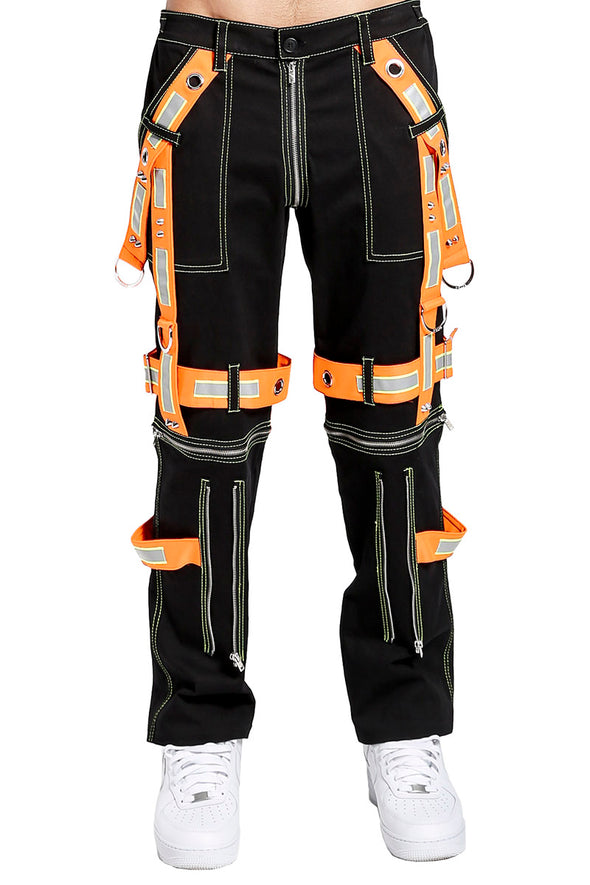 Tripp Black / Orange Ultimation Pants - Vampirefreaks Store