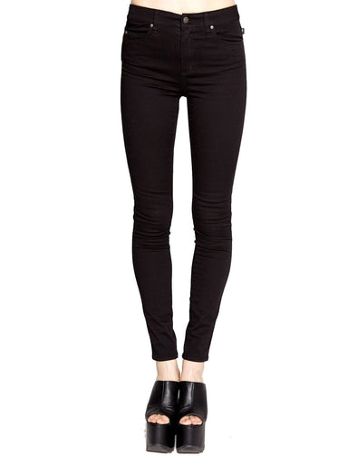 Tripp High Waist Skinny Black Pants
