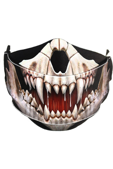 Demon Skull Face Mask