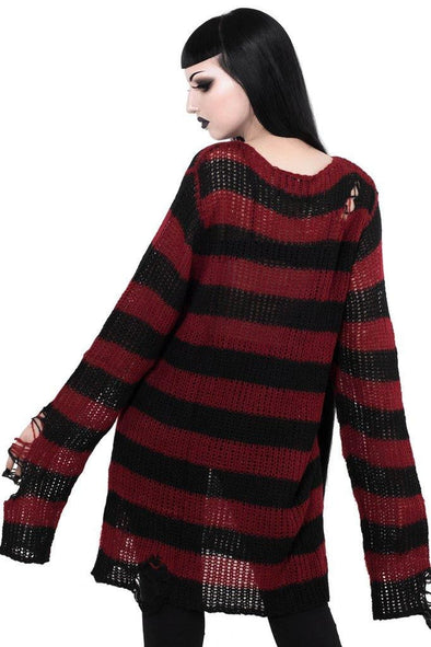 Killstar Krueger Knit Sweater