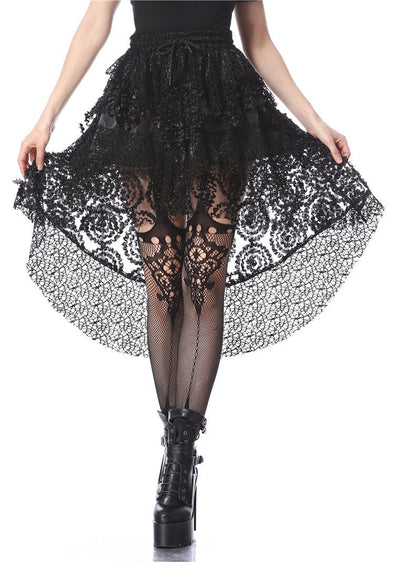 Dark In Love Hot Mess Punk Cocktail Skirt