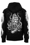mens pirate ship hoodie