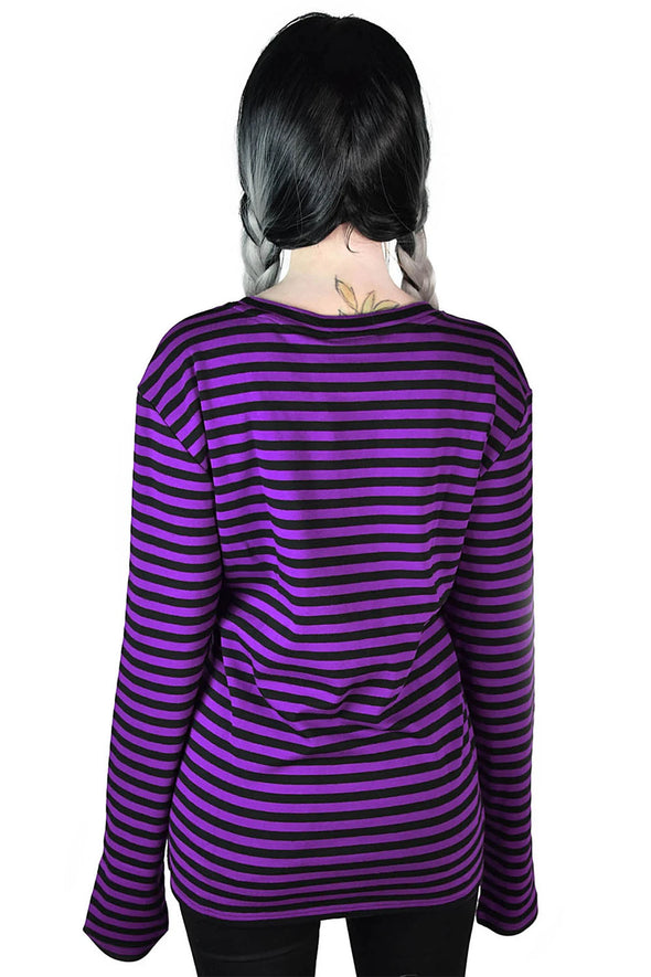 Lars Long Sleeve Top [Plum]