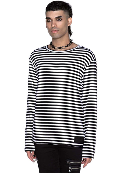 Lars Long Sleeve Top [White]