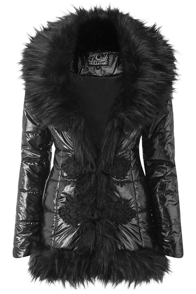 Killstar Lucine Puff Coat
