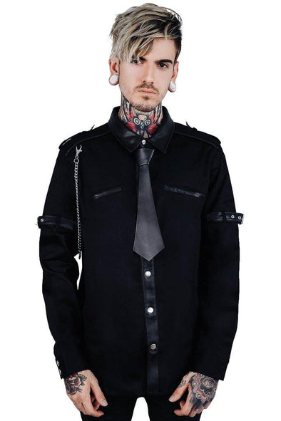 Killstar Lux Button-Up Shirt