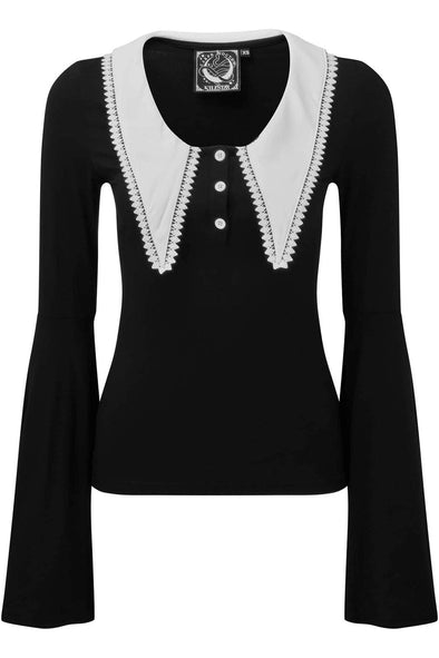 Wednesday Addams blouse