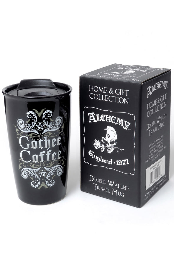 Gothee Coffee: Double Walled Travel Mug
