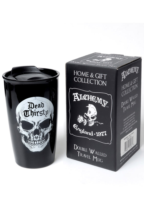 Dead Thirsty: Double Walled Travel Mug