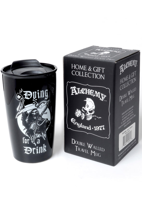 Gothic to go coffee cup