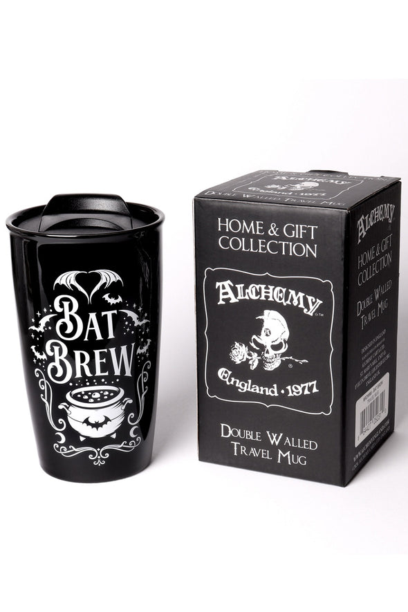Bat Brew Double Walled Mug