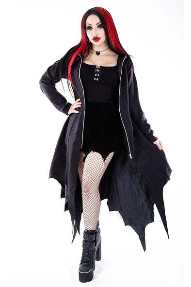 Necessary Evil Medeina Bat Wing Coat