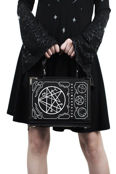 Killstar Necronomicon Book Handbag