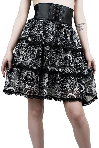 Killstar New Moon Corset Skirt - Vampirefreaks Store