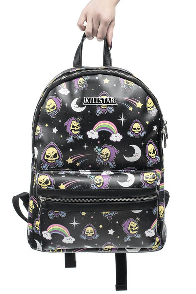 Killstar Skeletor Not Cute Backpack - Vampirefreaks Store