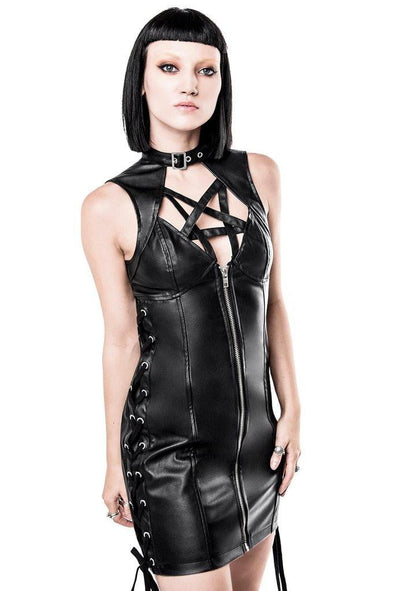 Killstar Oh My Mistress Bondage Dress - Vampirefreaks Store