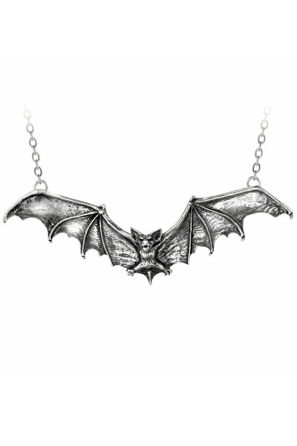 Deluxe Gothic Bat Necklace