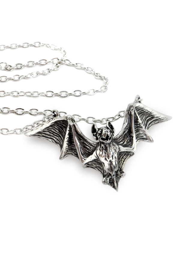 Alchemy Om Strygia Vampire Bat Necklace