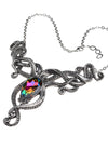 goth steampunk tentacle necklace
