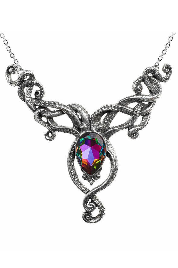 Gothic tentacle necklace