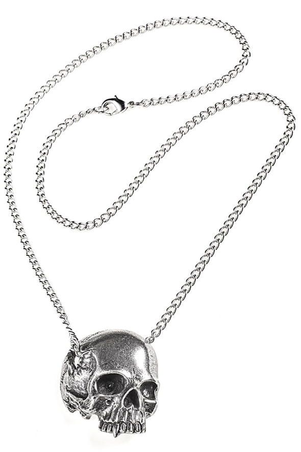 Skull Remains Necklace