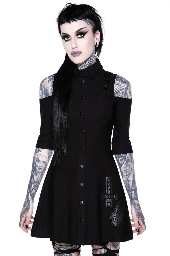 Paranormal Shirt-Dress