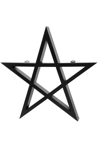 Killstar Pentagram Display Shelf