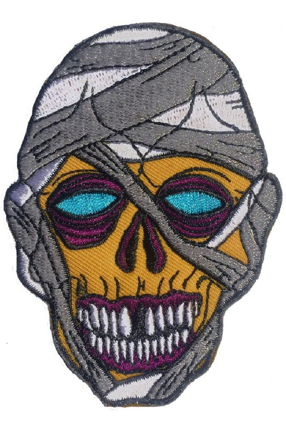 Kreepsville Graves Monster Mummy Patch - Vampirefreaks Store